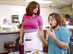 XXXJoX Andy James Milf Waitress