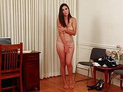 Want a Job? Better Strip Naked! (ENF)
