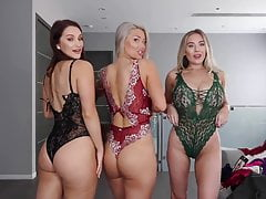 THREESOME LINGERIE TRY ON HAUL